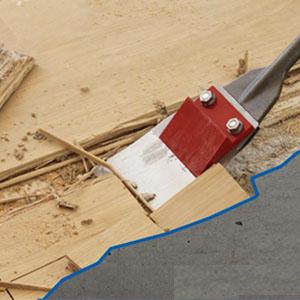 Timber Remove Machine