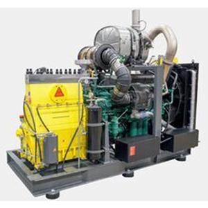 High-pressure pump unit